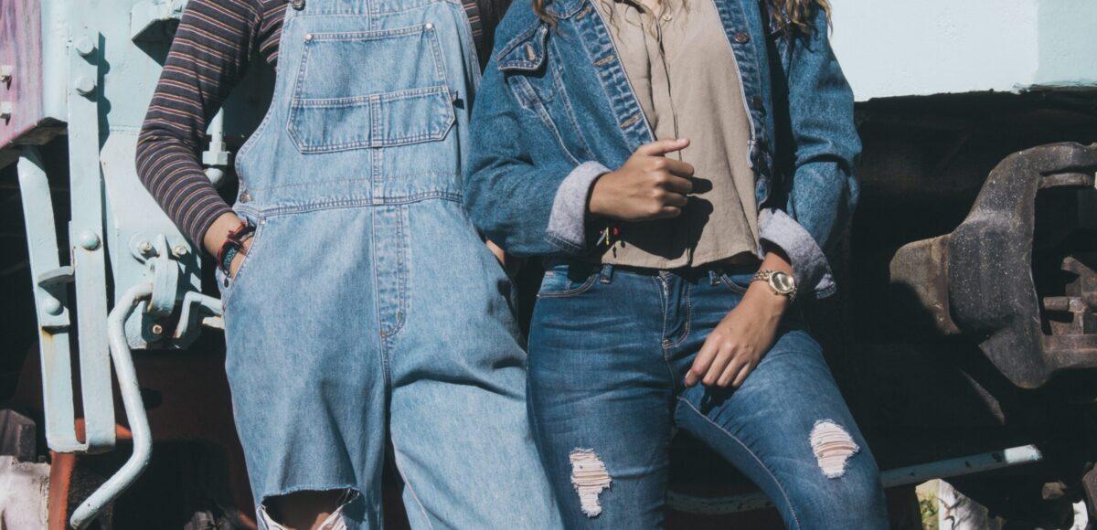 spodnie cambio jeansowe