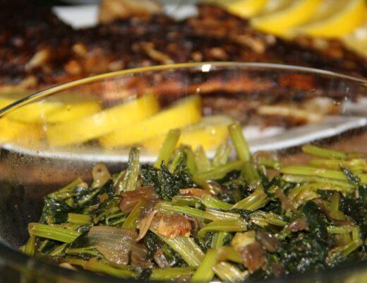 farsz brokułowo-szpinakowy